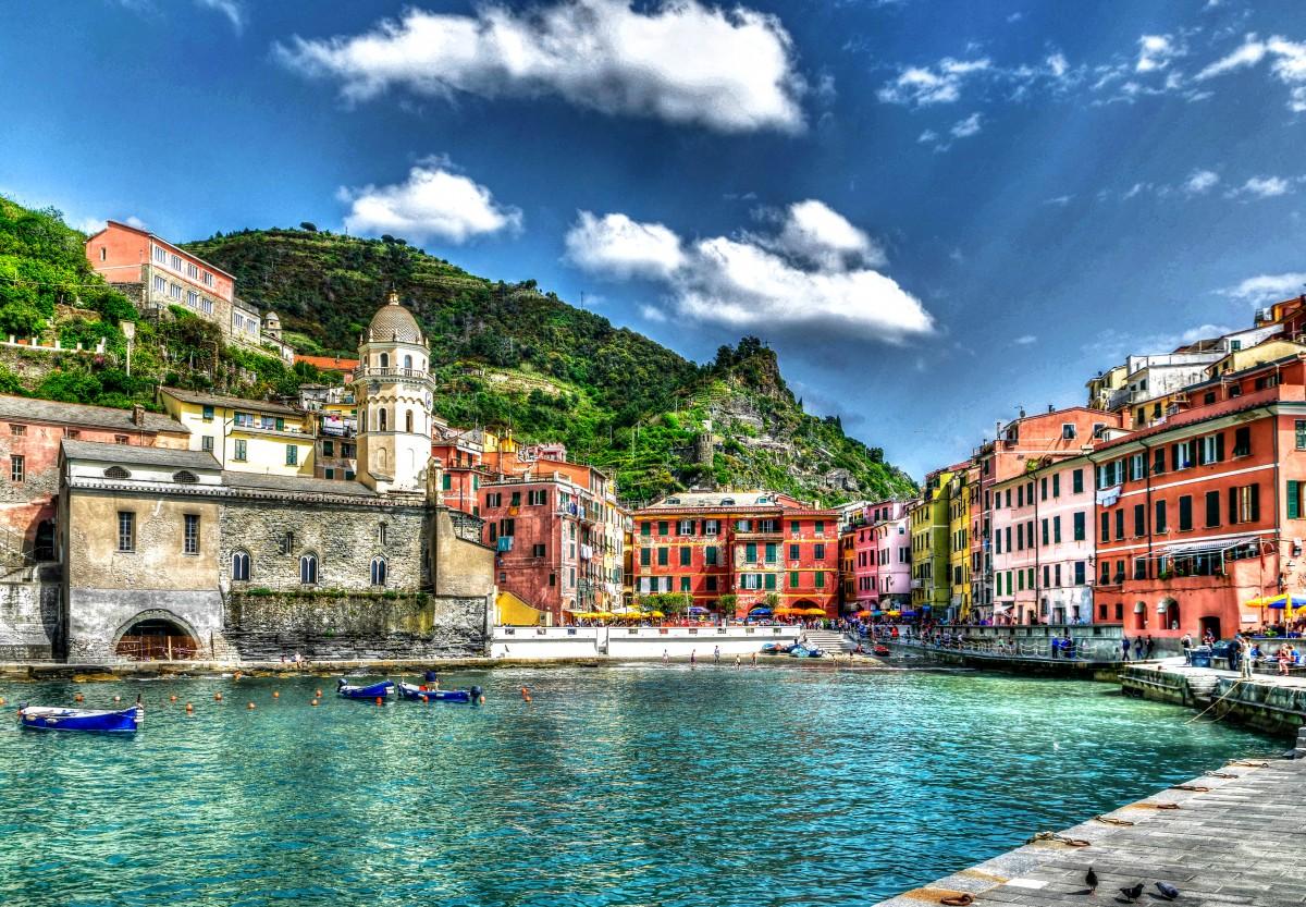 Rompecabezas Recoger rompecabezas en línea - Vernazza Italy