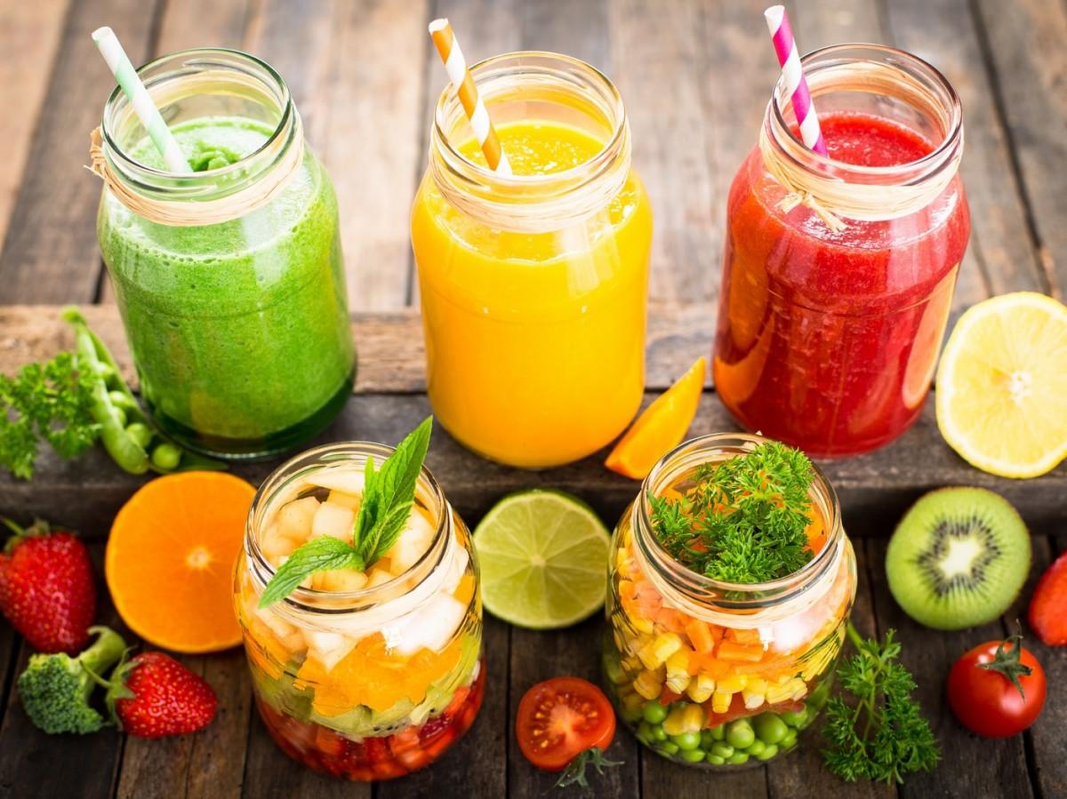 Rompecabezas Recoger rompecabezas en línea - Vitamin drinks