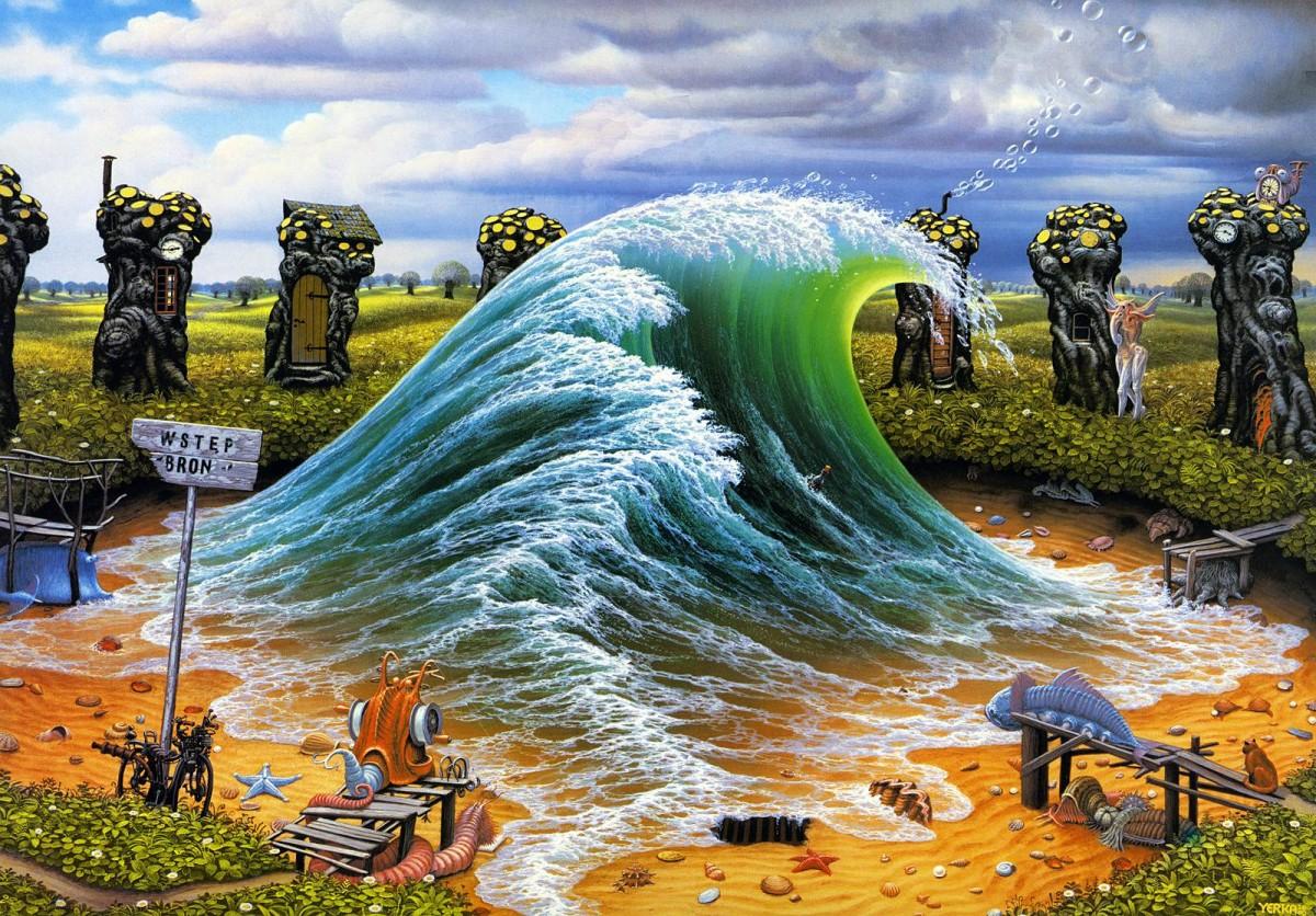 Rompecabezas Wave. Jacek Jerka