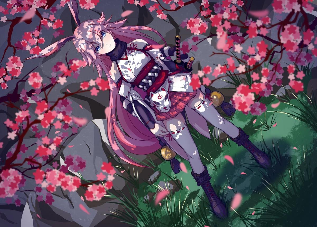 Rompecabezas Recoger rompecabezas en línea - Yae Sakura