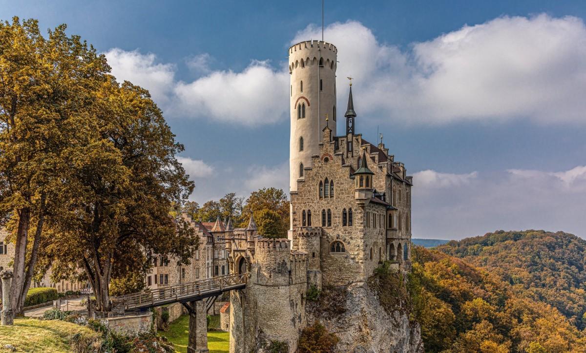 Rompecabezas Lichtenstein castle