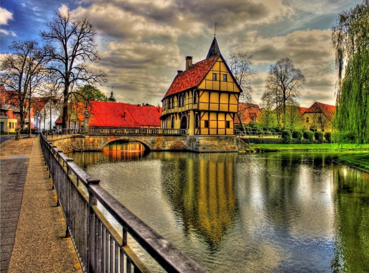Rompecabezas Steinfurt Castle