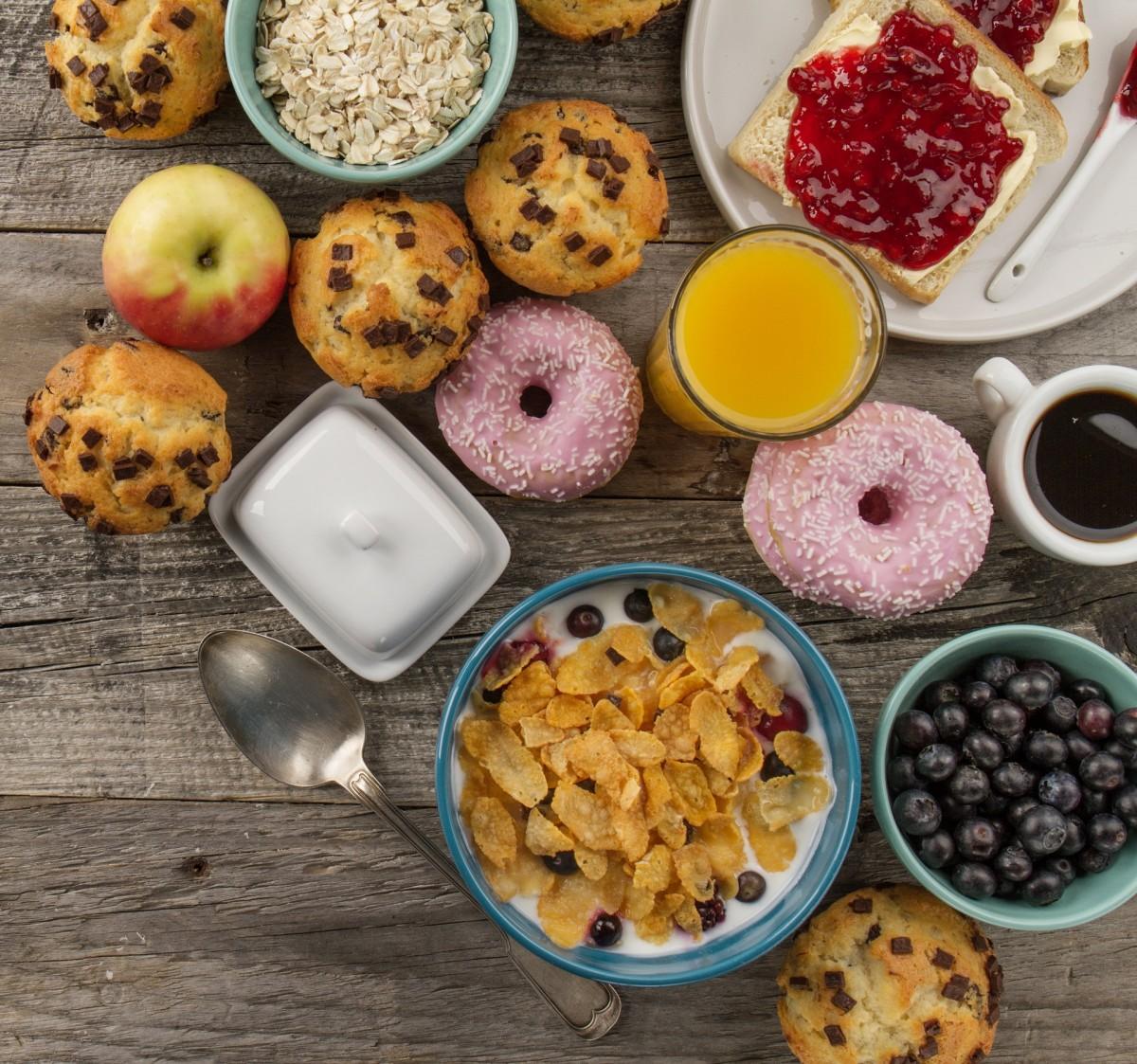 Rompecabezas Recoger rompecabezas en línea - Breakfast