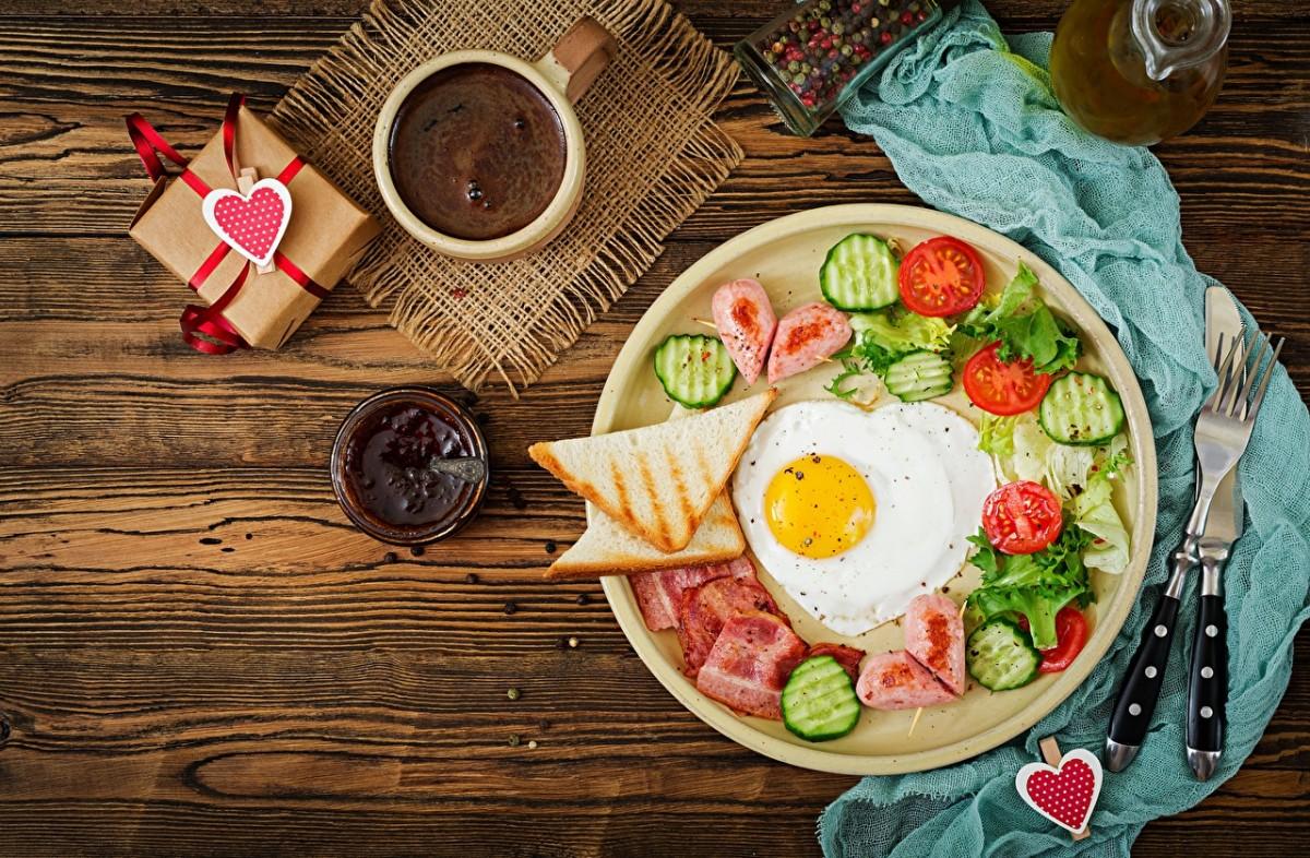 Rompecabezas Recoger rompecabezas en línea - Breakfast romance