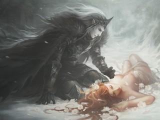 Собирать пазл Hades and Persephone онлайн
