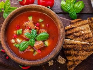 Собирать пазл Andalusian gazpacho онлайн