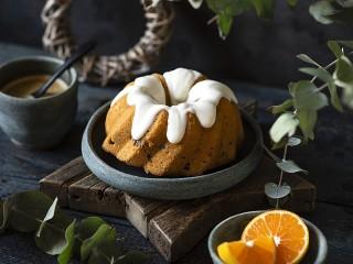Собирать пазл Orange cupcake онлайн