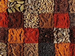 Собирать пазл Assorted spices онлайн
