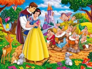 Собирать пазл Snow White онлайн