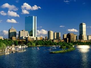 Собирать пазл Boston онлайн