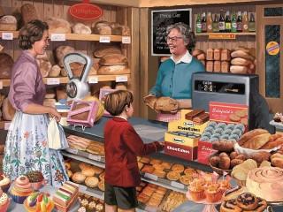 Собирать пазл Bakery онлайн