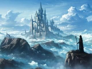 Собирать пазл Castle in the Clouds онлайн