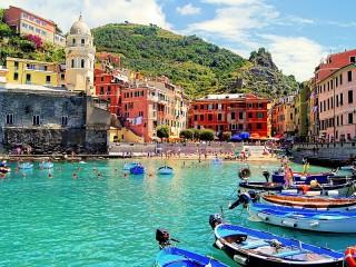 Собирать пазл Cinque Terre онлайн