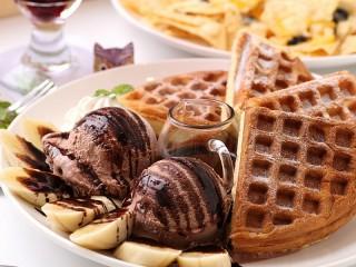 Собирать пазл Chocolate Ice Cream онлайн