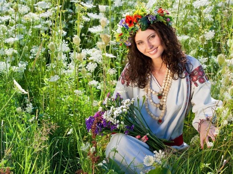 Rompecabezas Recoger rompecabezas en línea - Devushka v venke