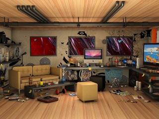 Собирать пазл Interior design онлайн