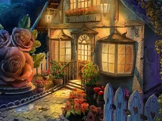 Собирать пазл Fairy House онлайн