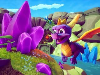 Собирать пазл Dragon and crystal онлайн