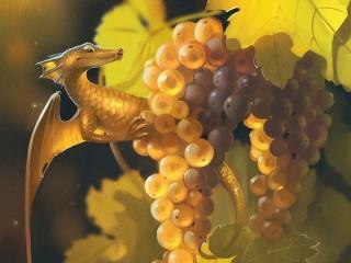 Собирать пазл Drakonchik i vinograd онлайн