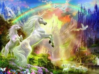 Собирать пазл Unicorns онлайн