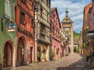 Собирать пазл Alsace France онлайн