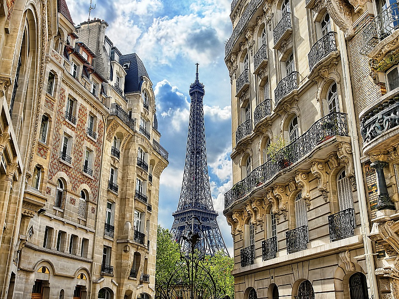 Rompecabezas Recoger rompecabezas en línea - Eiffel tower
