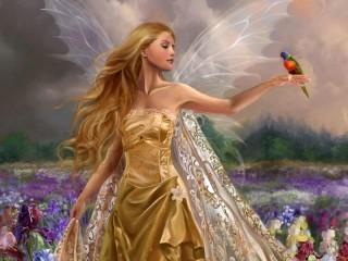 Собирать пазл Fairy онлайн