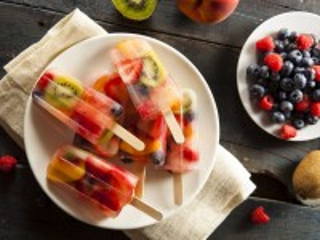 Собирать пазл Fruit Ice онлайн