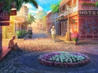 Собирать пазл Somewhere in Tahiti онлайн