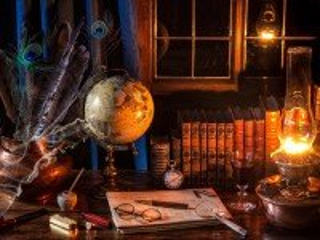 Собирать пазл Globus i lampa онлайн