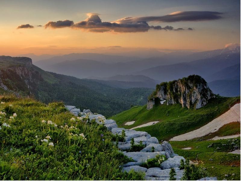 Rompecabezas Mountains