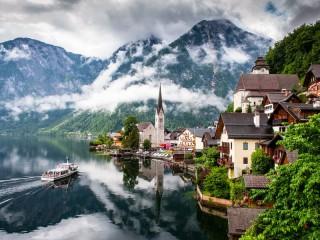 Собирать пазл Mountains in Austria онлайн