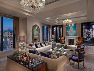 Собирать пазл Living room Suite онлайн