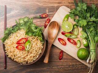 Собирать пазл Chinese food онлайн