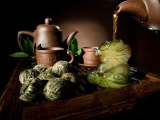 Собирать пазл Chinese tea онлайн