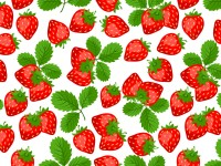 Собирать пазл Strawberry pattern онлайн