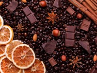 Собирать пазл Coffee and oranges онлайн