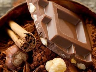 Собирать пазл Coffee and chocolate онлайн