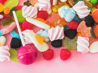 Собирать пазл Candy онлайн