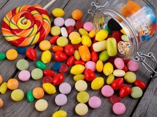 Собирать пазл Candy sprinkle онлайн