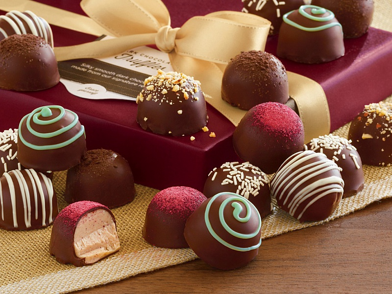 Rompecabezas Recoger rompecabezas en línea - Box of candies
