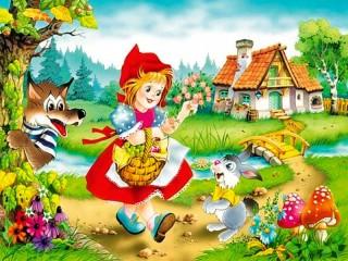 Собирать пазл Krasnaya Shapochka 2 онлайн