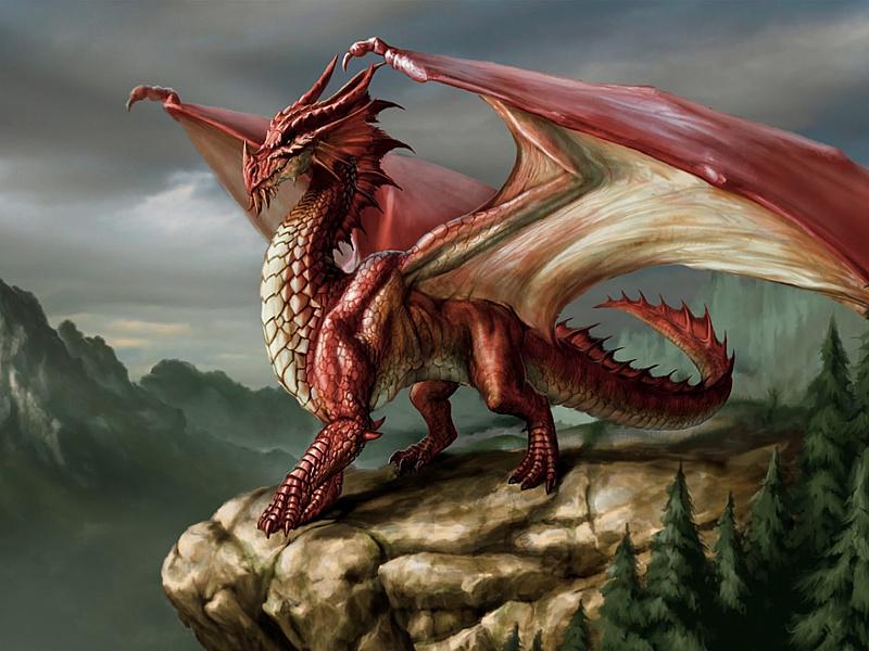 Rompecabezas Recoger rompecabezas en línea - Red dragon