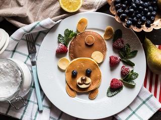 Собирать пазл Creative pancakes онлайн