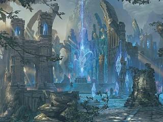 Собирать пазл Magic crystals онлайн