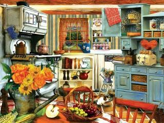 Собирать пазл Kitchen онлайн