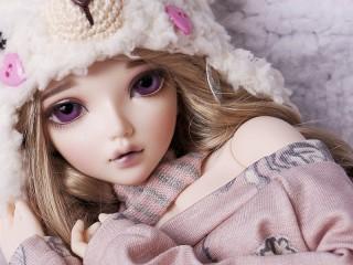 Собирать пазл Doll онлайн