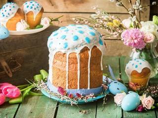 Собирать пазл Cakes with frosting онлайн