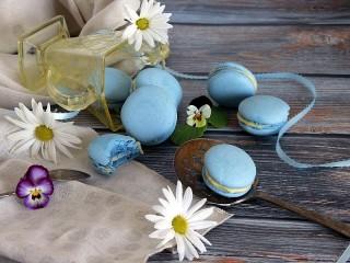 Собирать пазл Lavender cookies онлайн