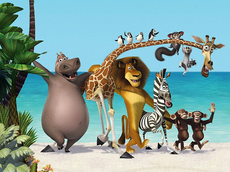 Rompecabezas Recoger rompecabezas en línea - Madagascar